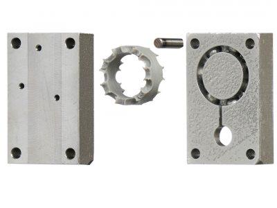 Molde metálico para inyección impreso en 3D