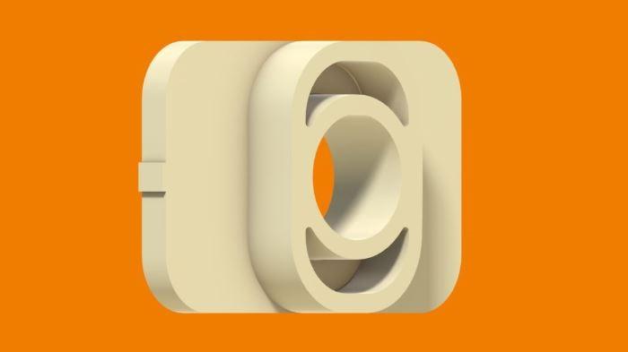 Diseño cuadrado personalizado con saliente en la valona