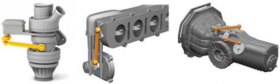bielas de doble articulación en automoviles