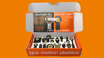 caja de muestras igubal