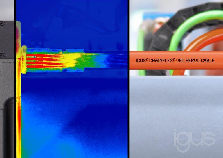 Cable de servo motor para altas temperaturas