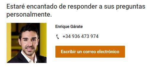 Enrique Garate, PM chainflex de igus