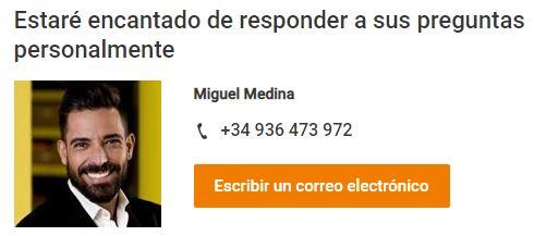 Miguel Medina de igus