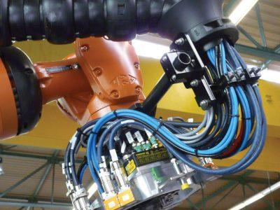 Cables para robots industriales