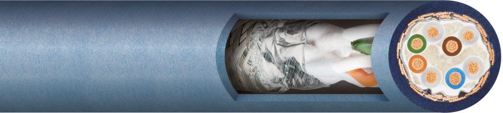 Cable para aplicaciones robóticas que admite torsión, igus