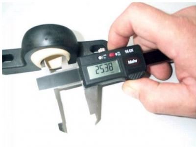 medición de cojinetes