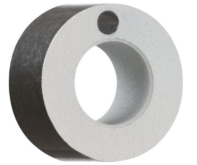 Rodamiento metálico con powder coating